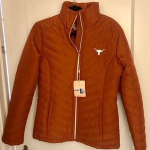University of Texas Burnt Orange Puffer Jacket